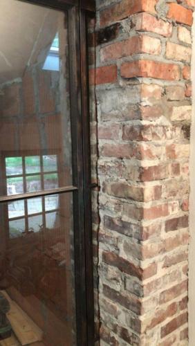 Taatsdeur gebrand staal